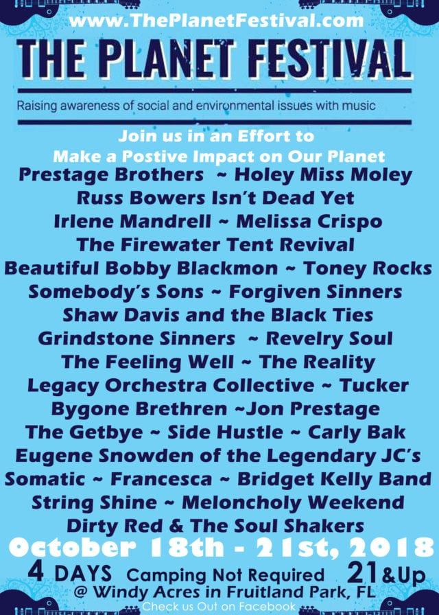 Planet Festival Lineup 2018