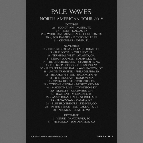 Pale Waves Orlando 2018