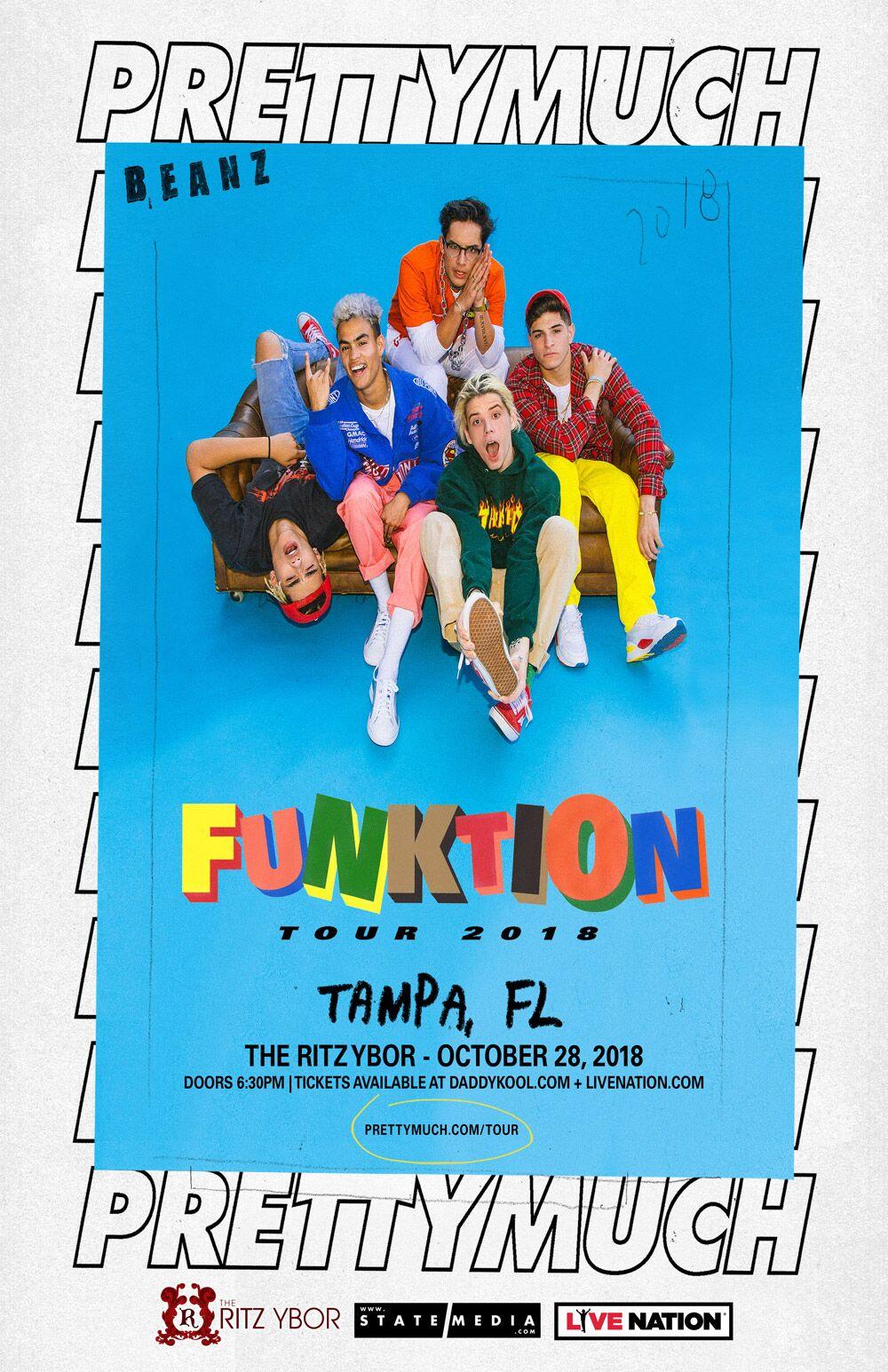PrettyMuch Tampa 2018 Tickets