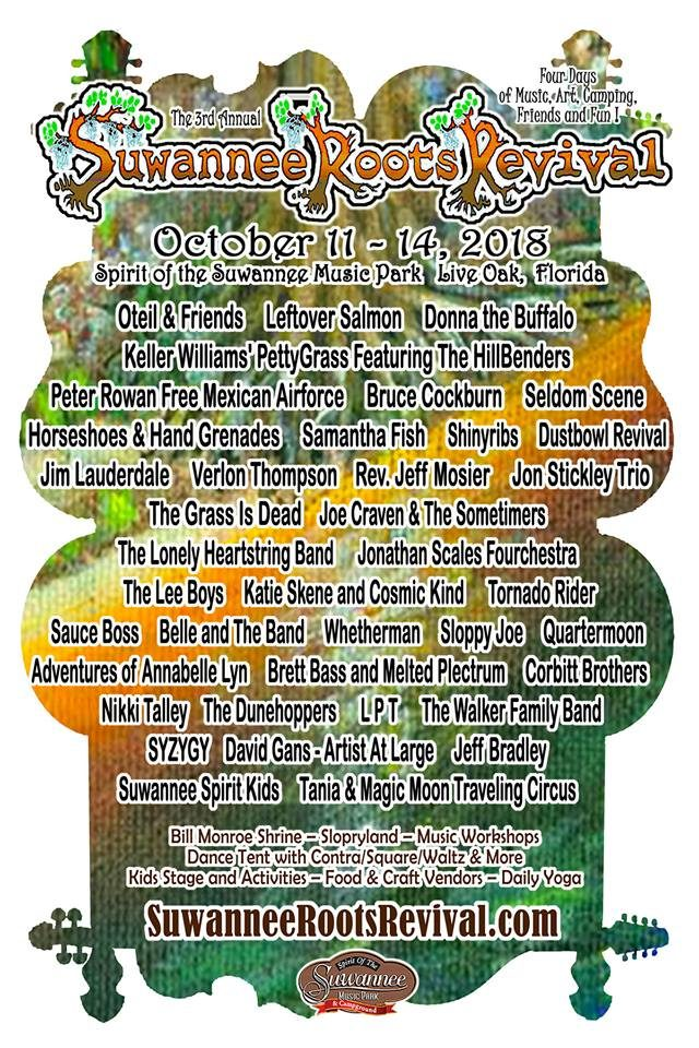 Suwannee Roots Revival 2018 2