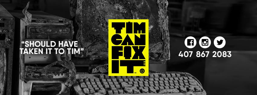 Tim Can Fix It Best Underground Computer Repair Orlando