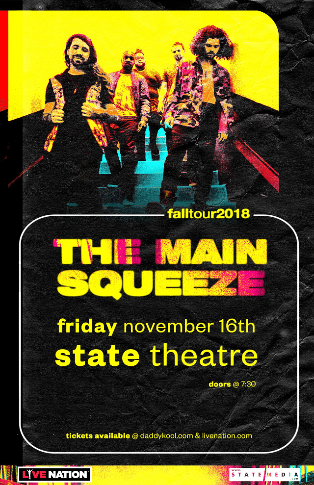 The Main Squeeze Tampa 2018