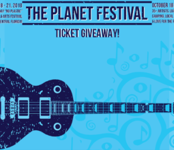 The Planet Festival Ticket Giveaway