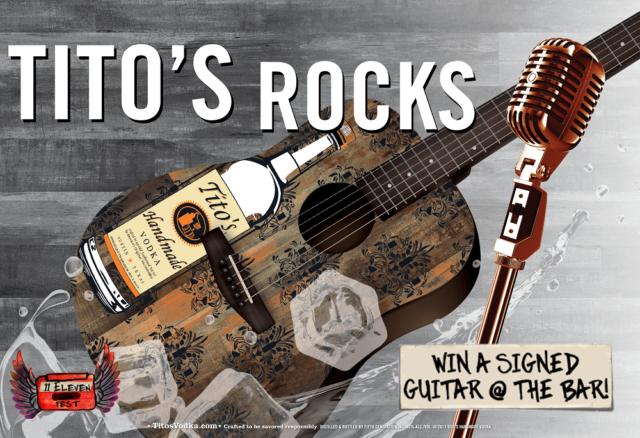 Tito's Rocks Guitar 11Eleven Fest
