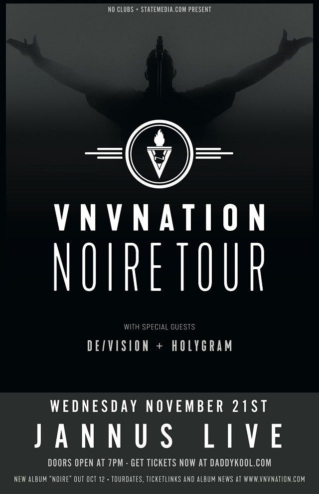 VNV Nation Tampa 2018 Tickets
