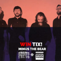MINUS THE BEAR TAMPA 2018