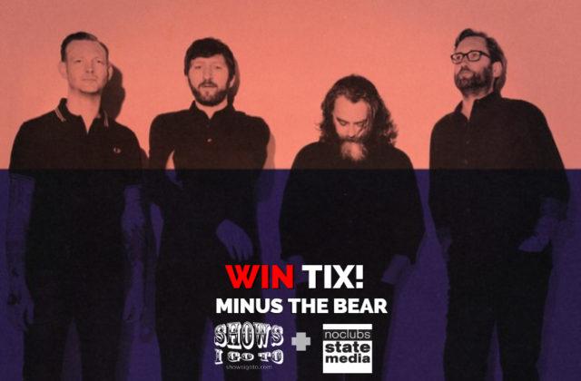 MINUS THE BEAR TAMPA 2018