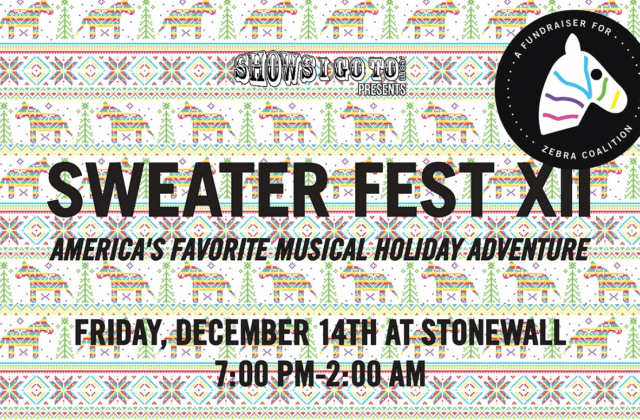 Sweater Fest 2018 Full Lineup Stonewall orlando