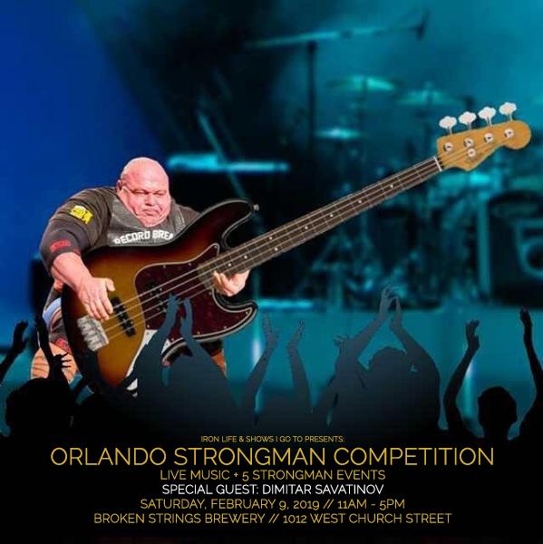 Dimitar Meme Orlando Strongman 2019