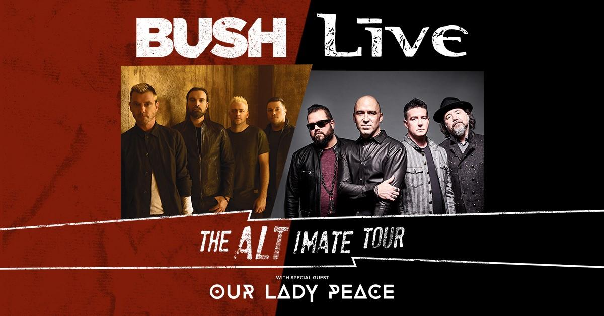 BUSH LIVE Tampa 2019 Tickets