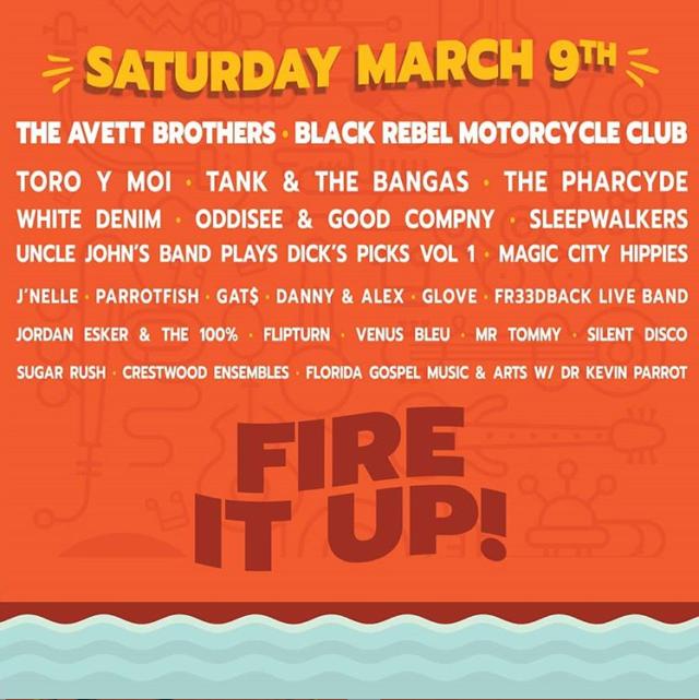 Gasparilla 2019 Lineup Saturday Tampa
