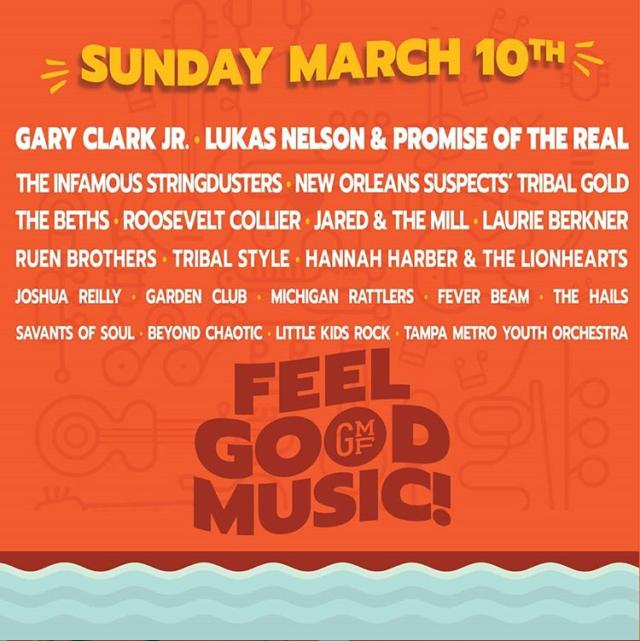 Gasparilla 2019 Lineup Sunday Tampa
