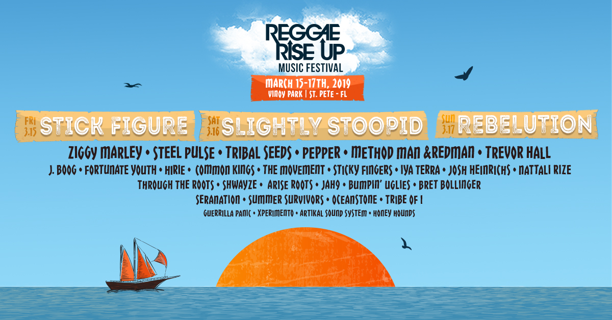 Reggae Rise Up 2019 Tickets