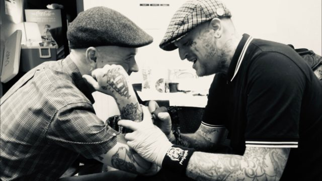 Rick tattooing flogging molly