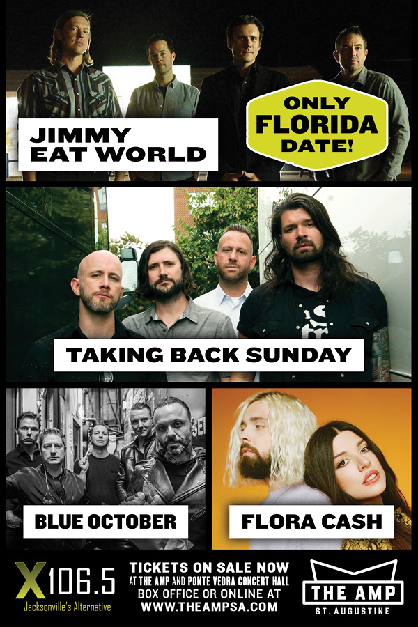 Jimmy Eat World St Augustine Tickets 2019