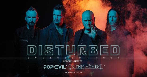 Disturbed Florida Tour Dates 2019