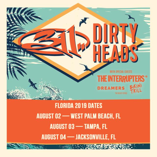 311 DirtyHeads_2019 Florida Dates