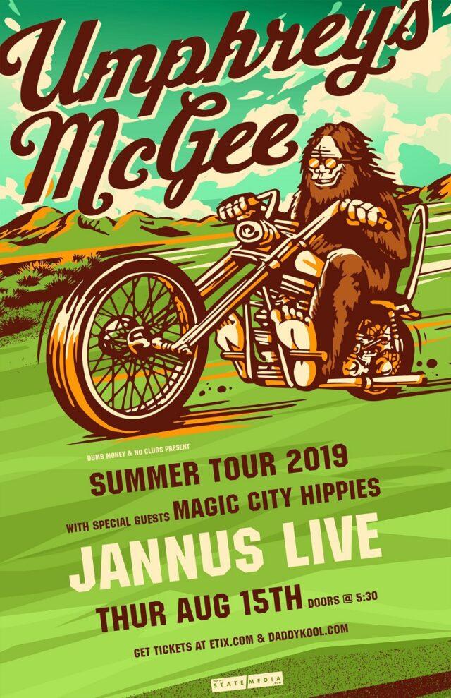 Umphreys McGee Tampa 2019