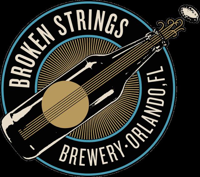 Broken Strings Logo Orlando Brewery
