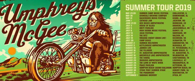 Umphrey's McGee Summer Tour 2019