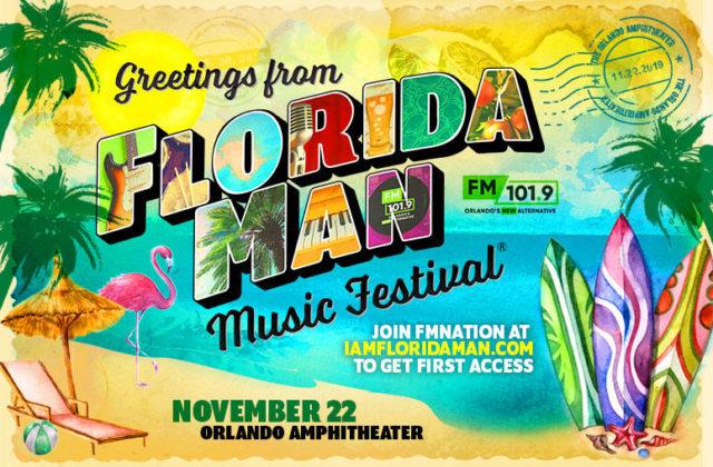 Florida Man Music Festival 2019 Lineup