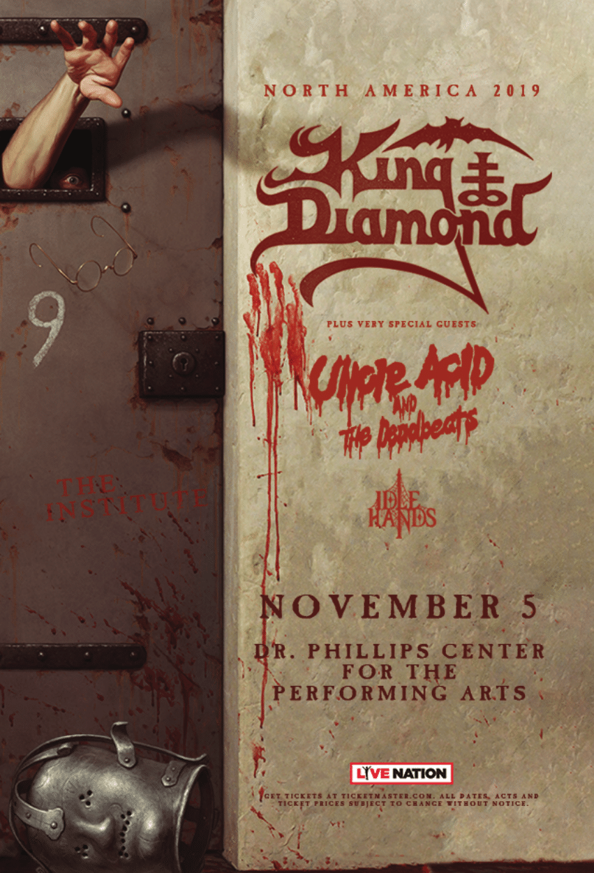 King Diamond Orlando tickets