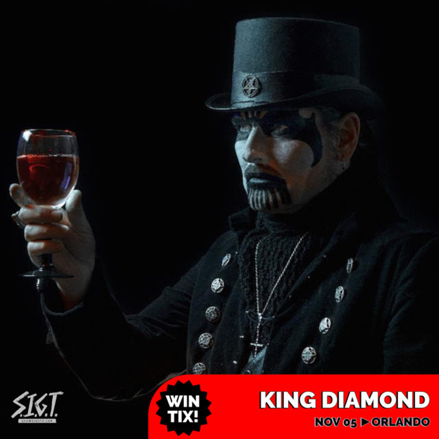 King Diamond Tickets Orlando 2019
