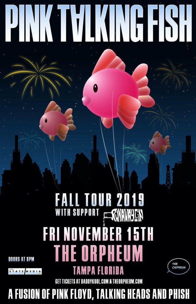 Pink Talking Fish 2019