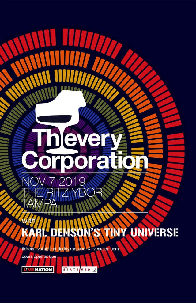 Thievery Corporation 2019