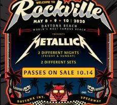 Welcome To Rockville 2020 Metallica Lineup