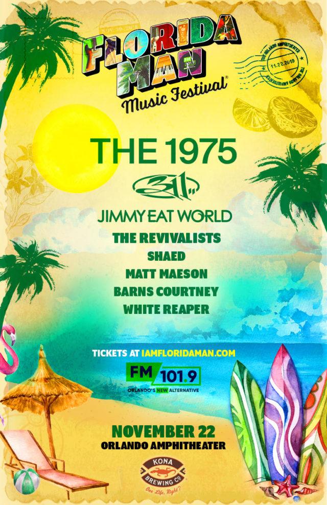 Florida Man Music Festival 2019 Lineup Tickets Win