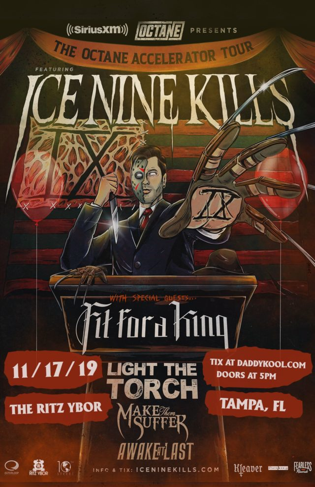Ice Nine Kills 2019