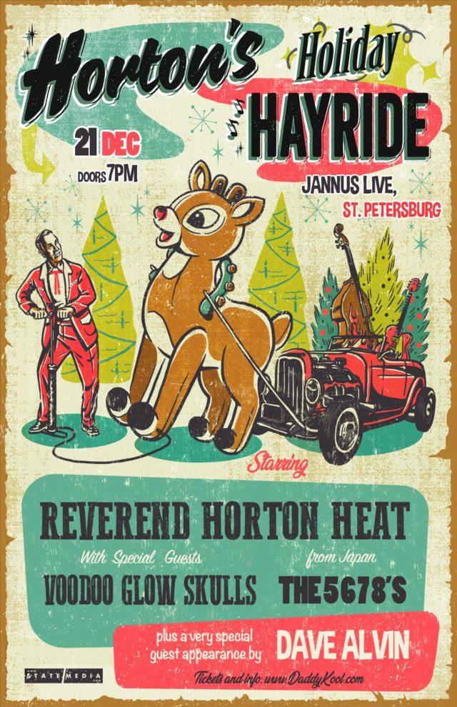 Reverend Horton Heat 2019
