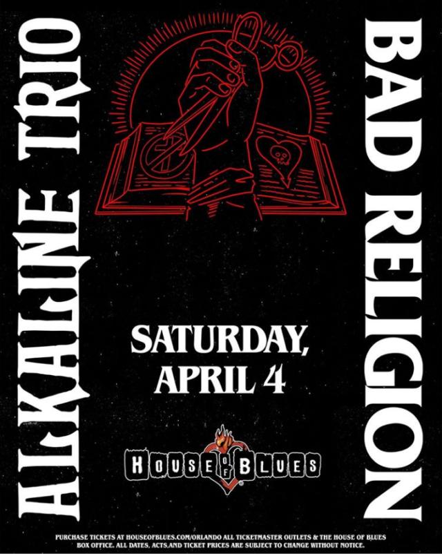 Bad Religion Orlando Alkaline Trio 2020