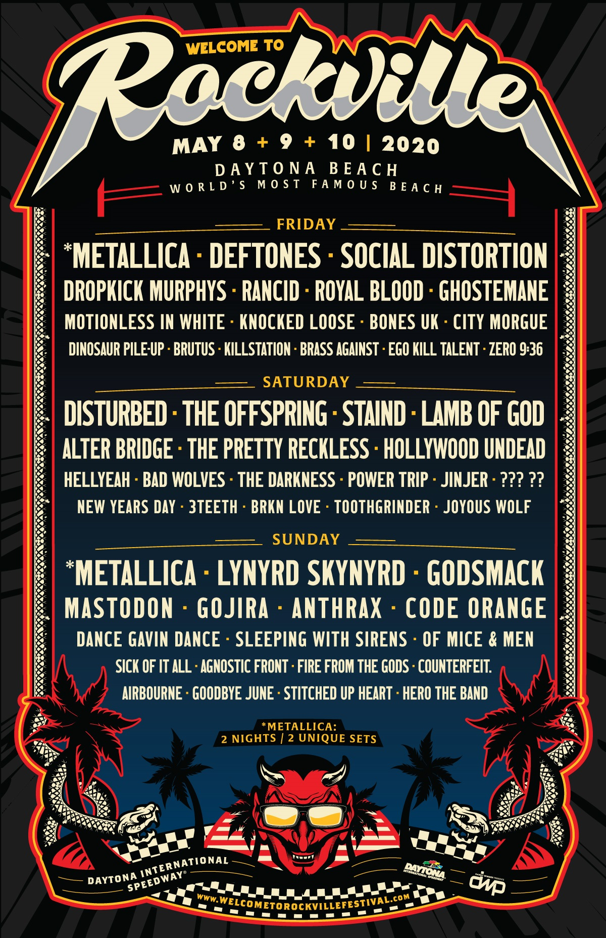 Rockville 2020 Tickets
