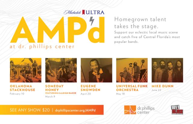 AMPd Dr Phillips Center Tickets Eugene Snowden