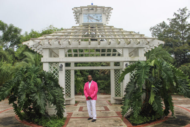 Uncle Lou at Leu Gardens ⭐ August 17, 2020 ⭐ Harry P. Leu Gardens — Orlando, FLA ⭐ Photos by Mitch Foster — instagram.com/fmitchfoster