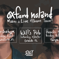 Oxford Noland Florida Tour 2021 Dates