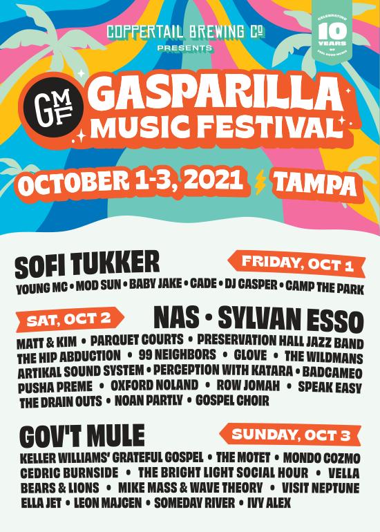 Gasparilla Music Festival Lineup 2021 Tickets