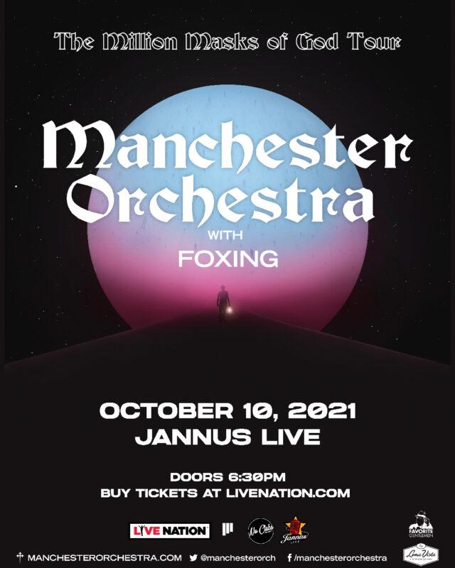 Manchester Orchestra-Tickets Jannus Live