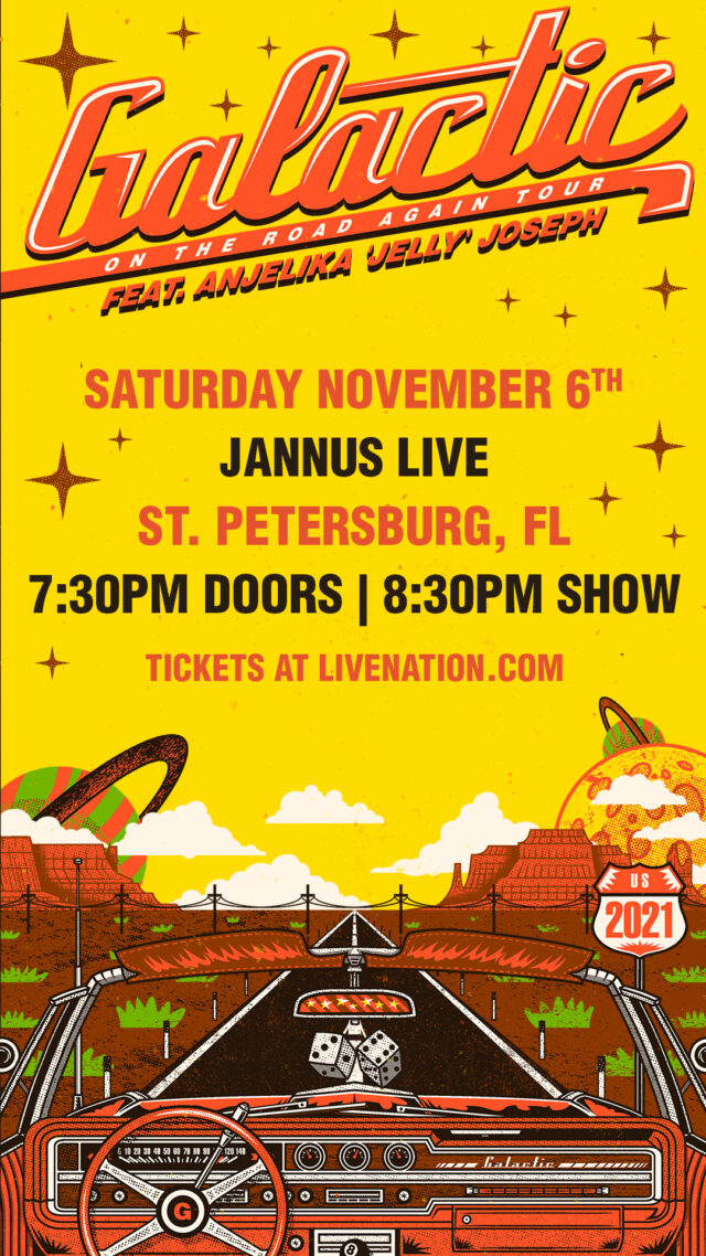 Galactic Funk Band Tickets 2021 Tampa