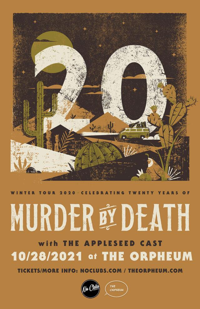 Murder By Death Tickets Tampa 2021
