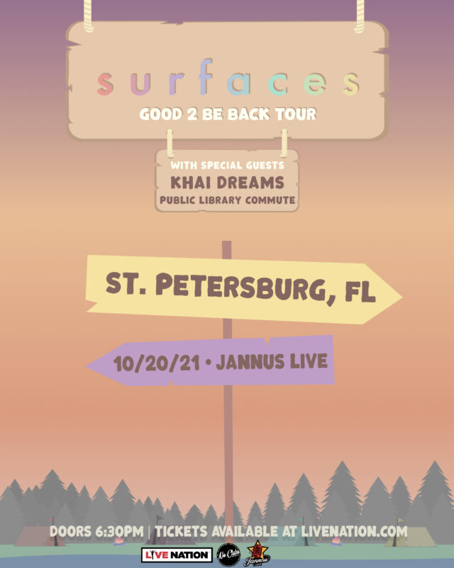 Surfaces Band Tickets StPete 2021