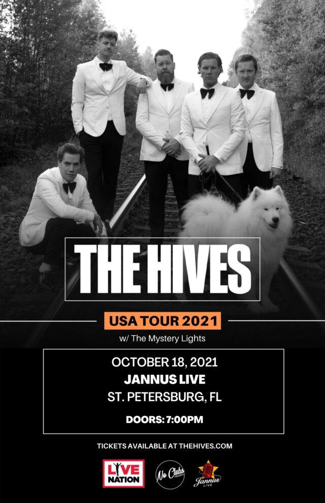The Hives USA TOUR 2021 STPETE